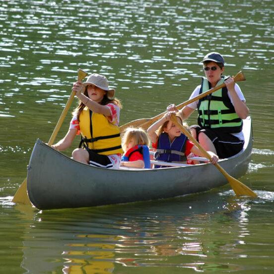 Eric's Canoe Rental local paddle
